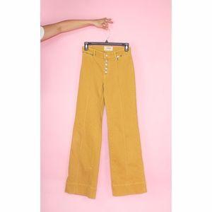 (569) Free People High Rise Wide Leg Pants